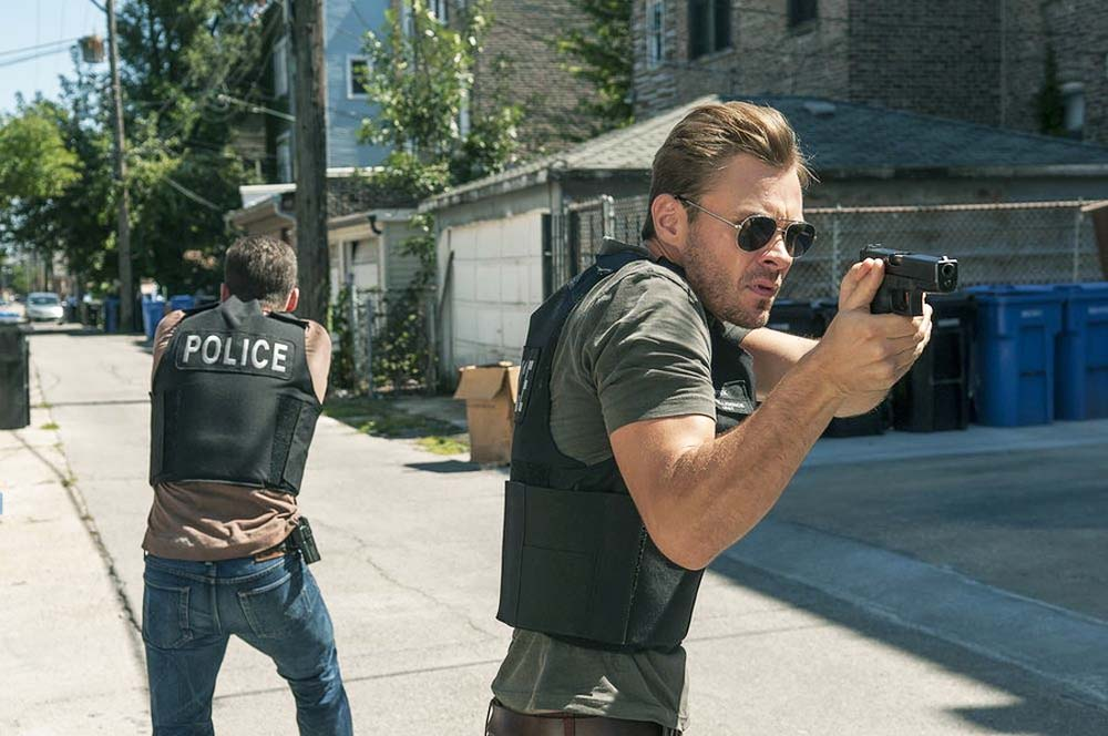 Patrick Flueger as Adam Ruzek on the series Chicago P.D.