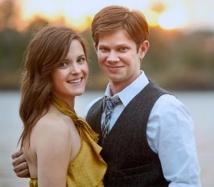 Lee Norris with wife Andrea Norris.