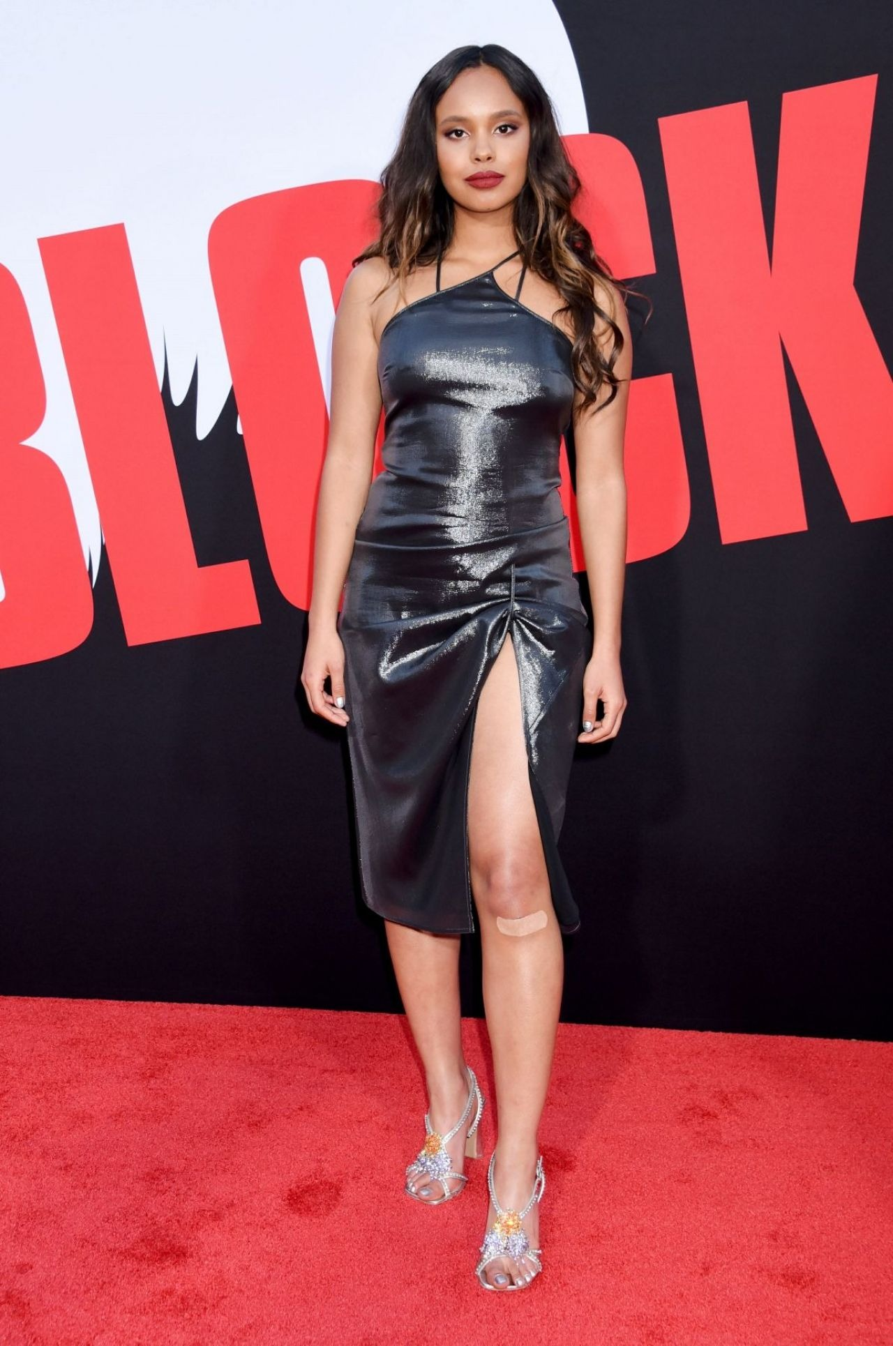 Alisha Boe is attending an event in her glamorous outfit