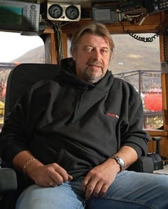 Phil Harris is in his ship