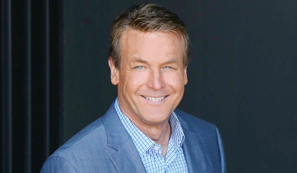 Doug Davidson smiling wearing a blue blazer