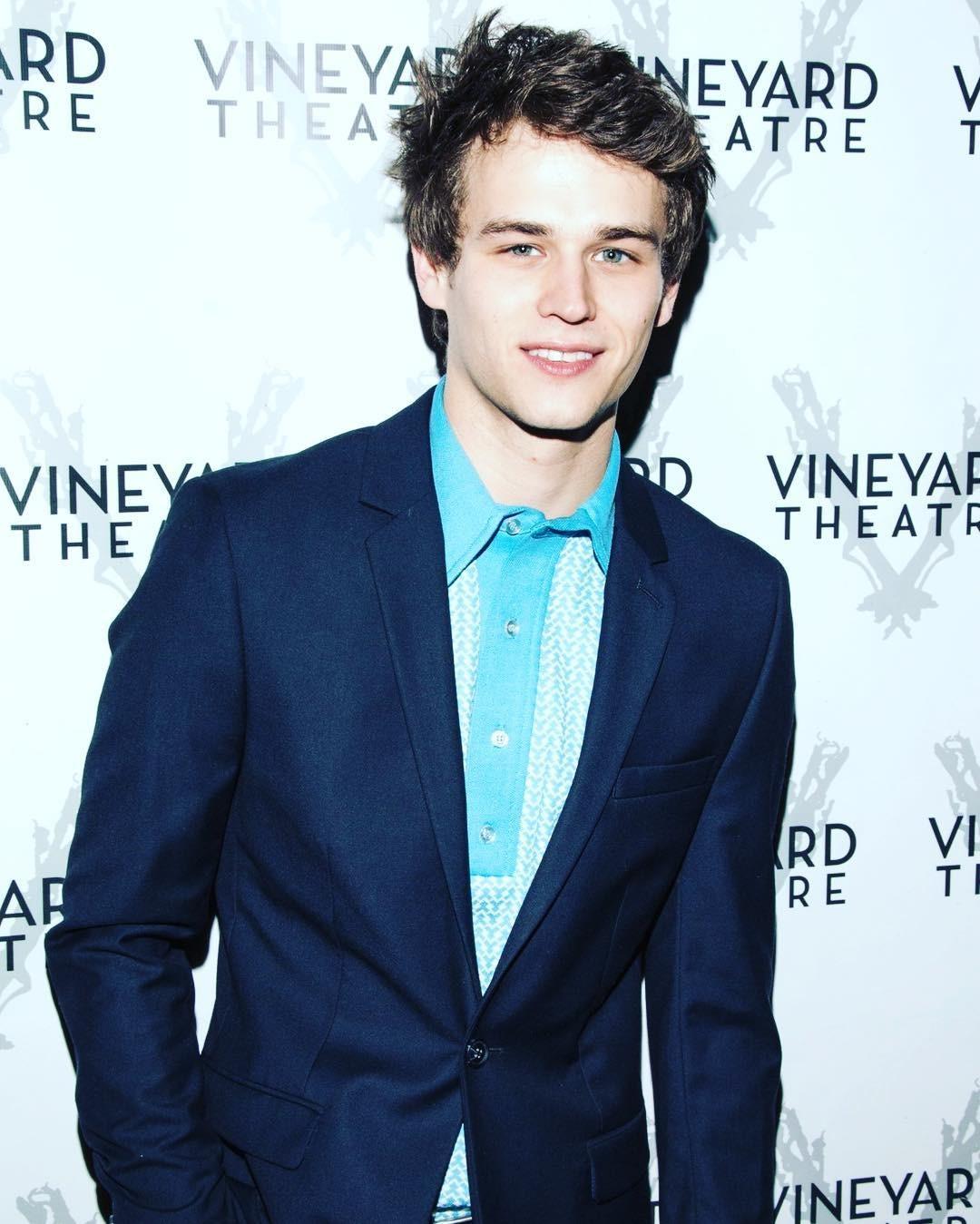 Brandon Flynn in an event of Vineyard Theatre