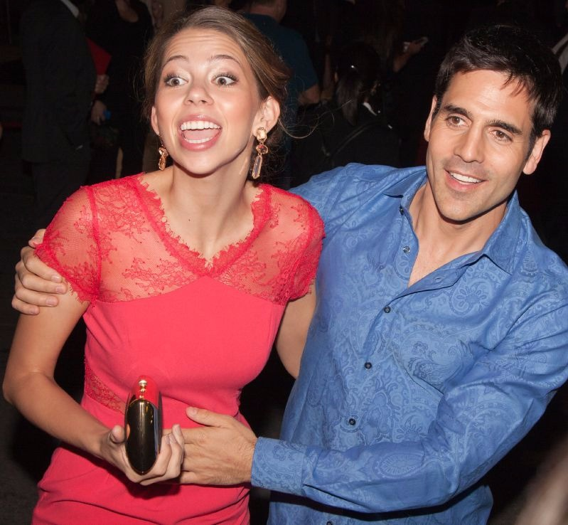 Ben Bass with wife Laura Carswell