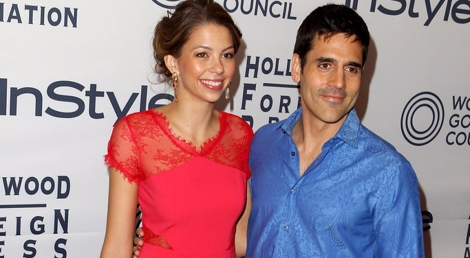 Ben Bass and his then-wife Laura attending a red carpet events