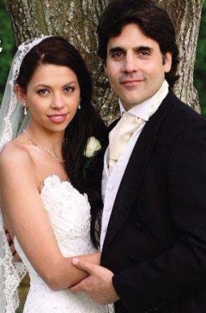 Ben Bass and Laura Carswell's wedding photo