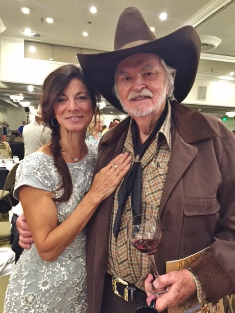 Buck Taylor with his wife Goldie Ann Taylor (married 1995)