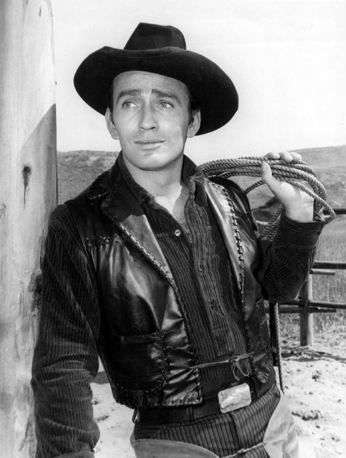 Black and white image of James Drury.