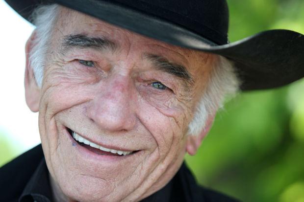 James Drury smiling