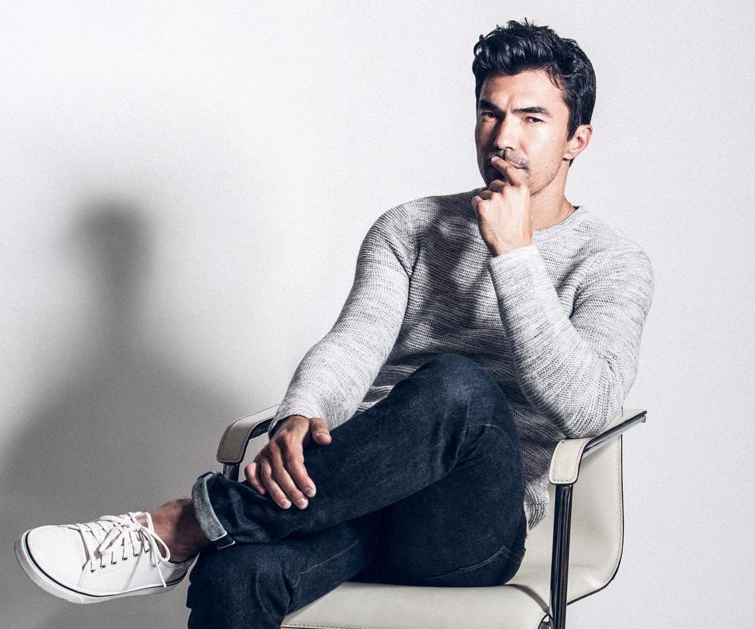 Ian Anthony Dale posing for the camera