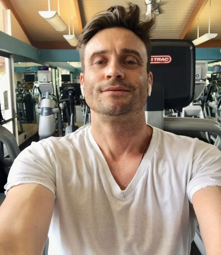 The Young and the Restless star, Daniel Goddard