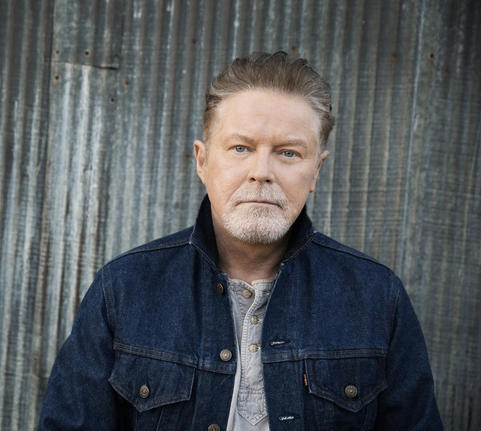 Don Henley wearing a jeans jacket.