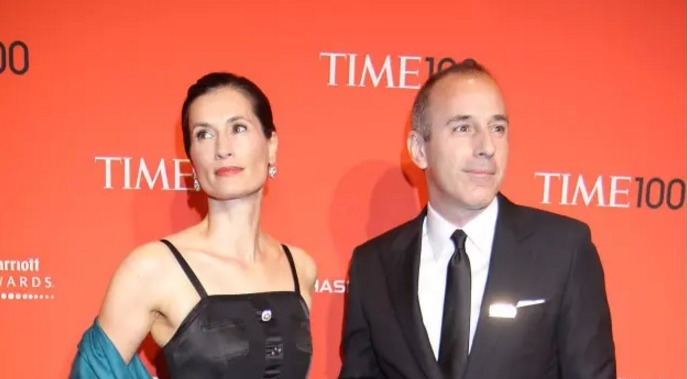Matt Lauer with second wife Annette