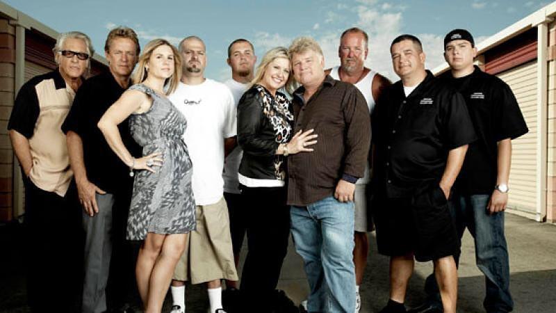 Cast members of Storage Wars