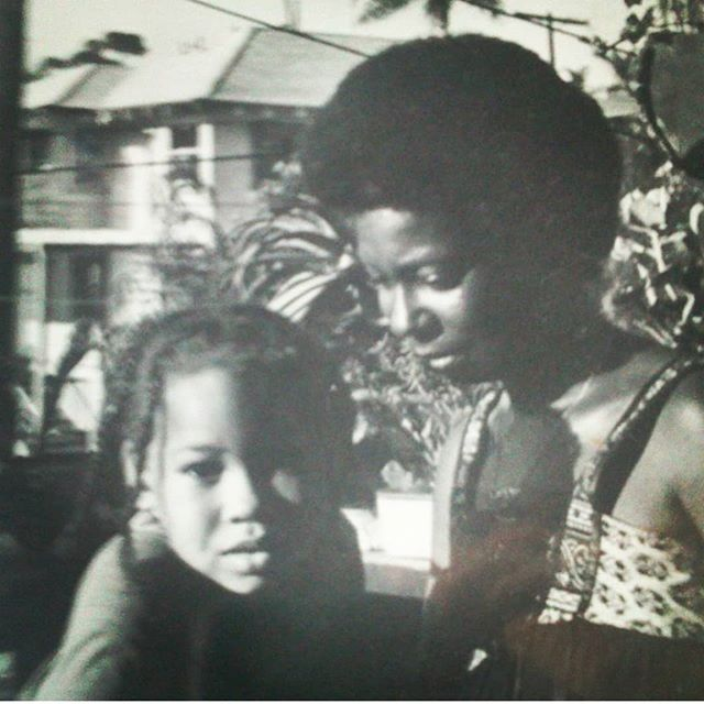 Young Alex Martin with her mother, Whoopi Goldberg. Alex Martin is the only daughter of The View host Whoopi Goldberg and her husband, Alvin Martin.