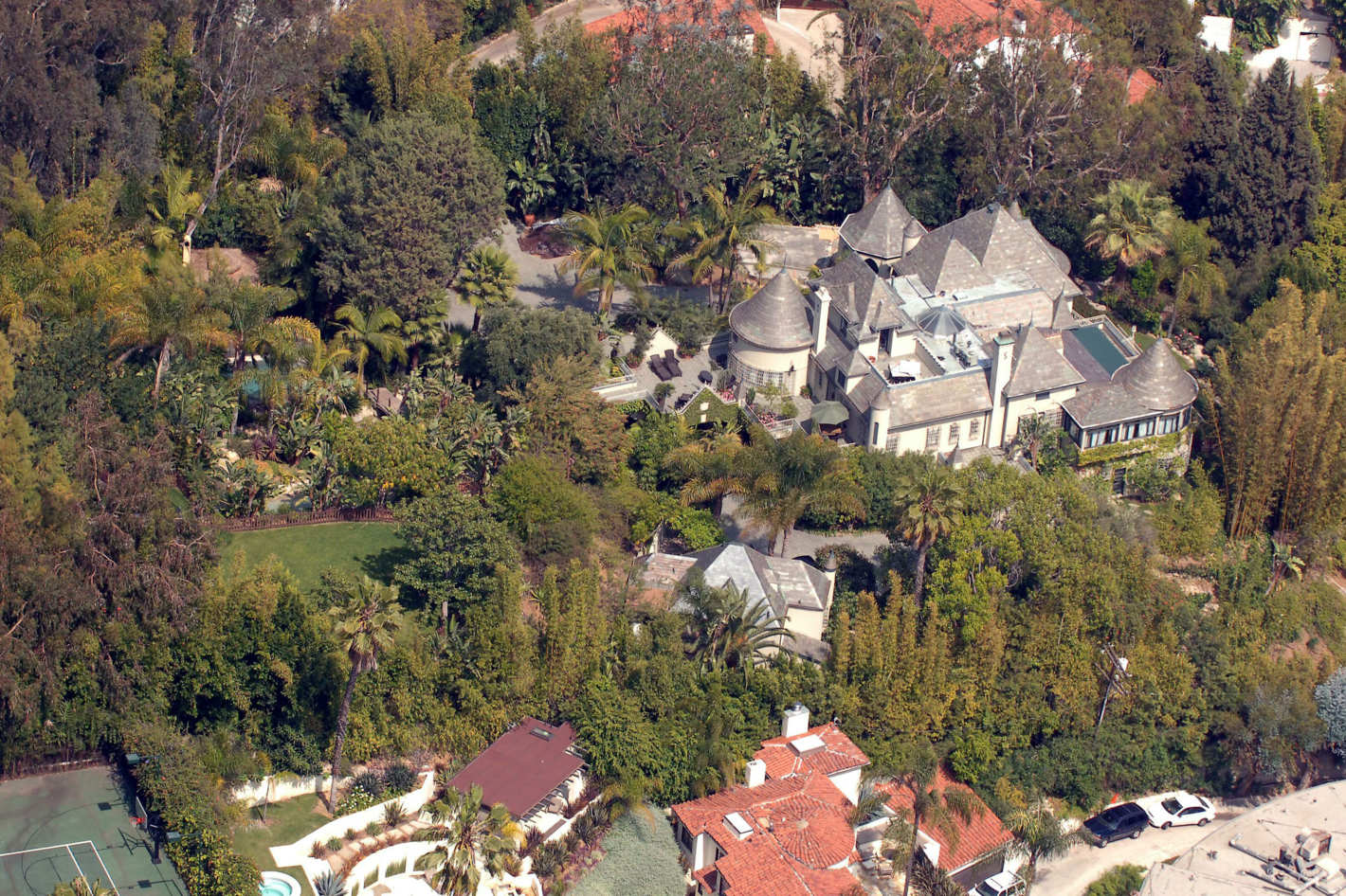 Johnny Depp's Hollywood home