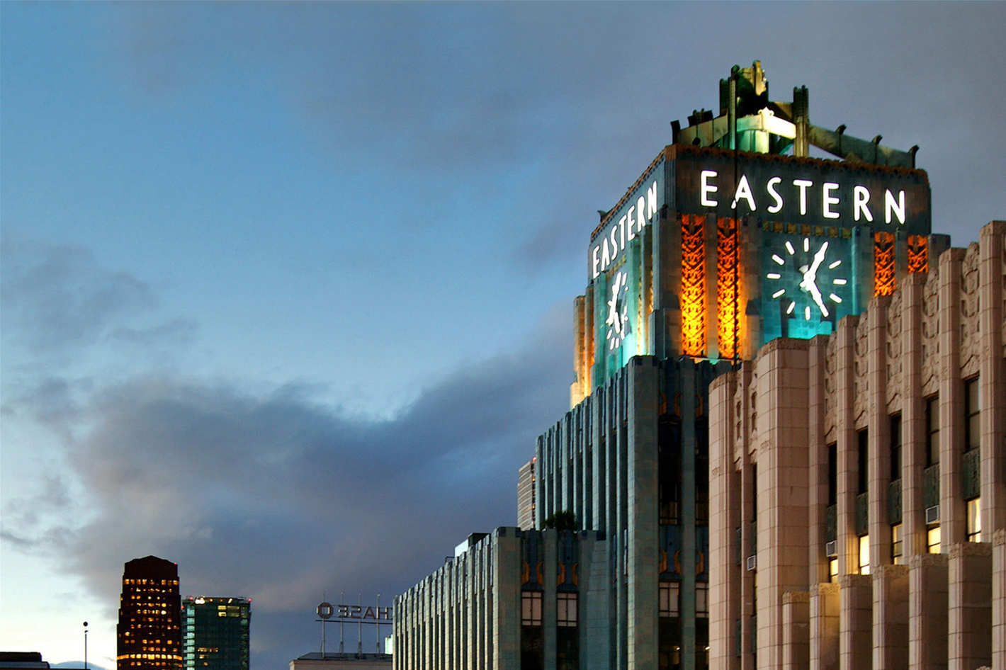 Art Deco-style Eastern Columbia Building