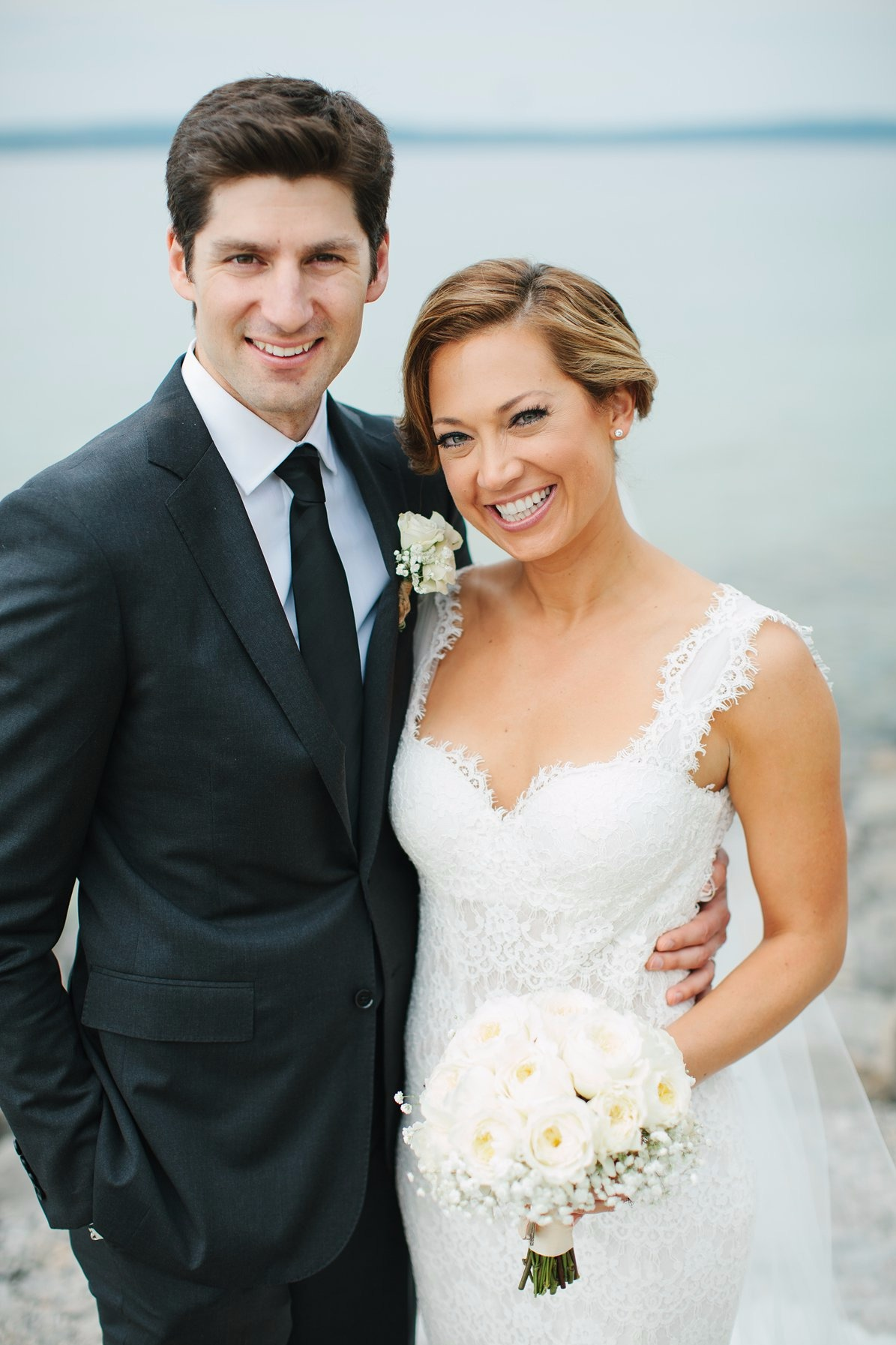 Ginger Zee and Ben Aaron wedding