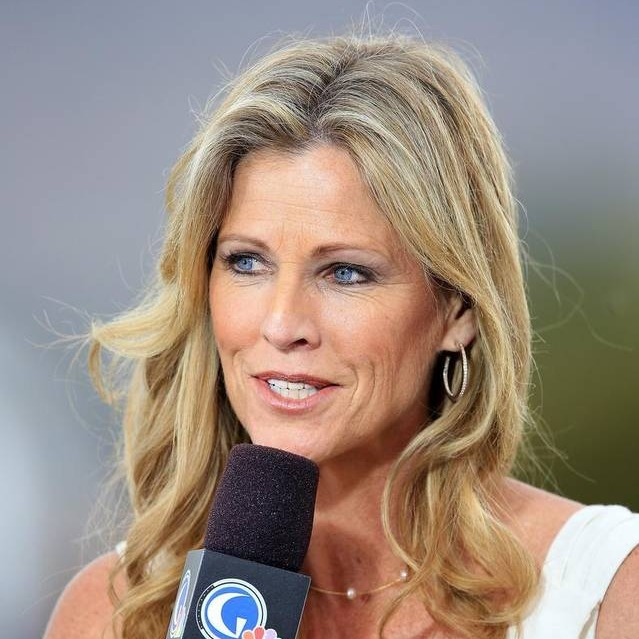 Kelly Tilghman, of Golf Channel, reporting the 2014 Kraft Championship