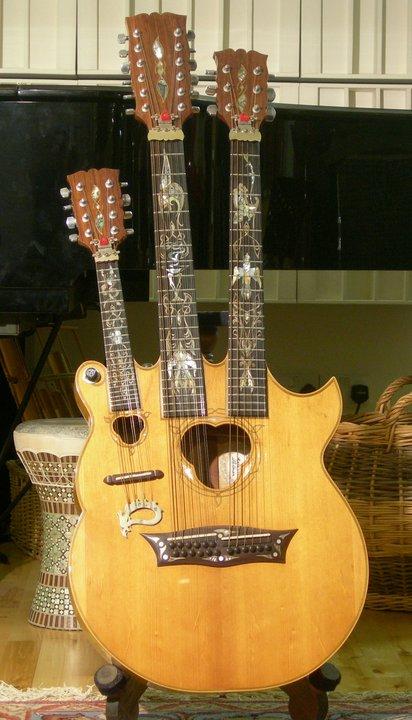 Manson Custom Triple Neck Acoustic