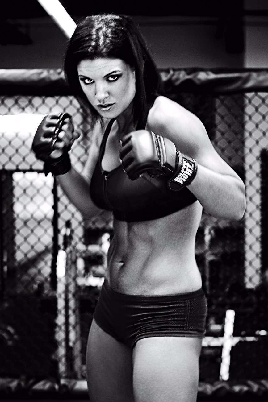 Gina Carano was featured in ESPN The Magazine's The Body issue in 2009