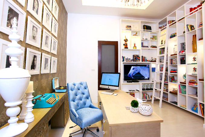 The office room of Bea Alonzo's house