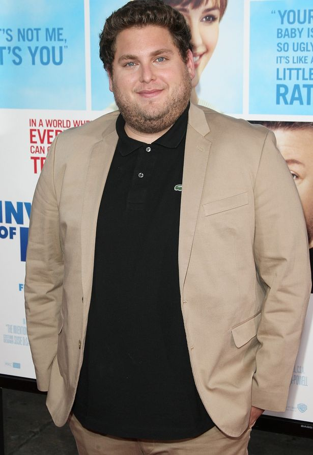 Jonah Hill after his weight gain at movie premiere