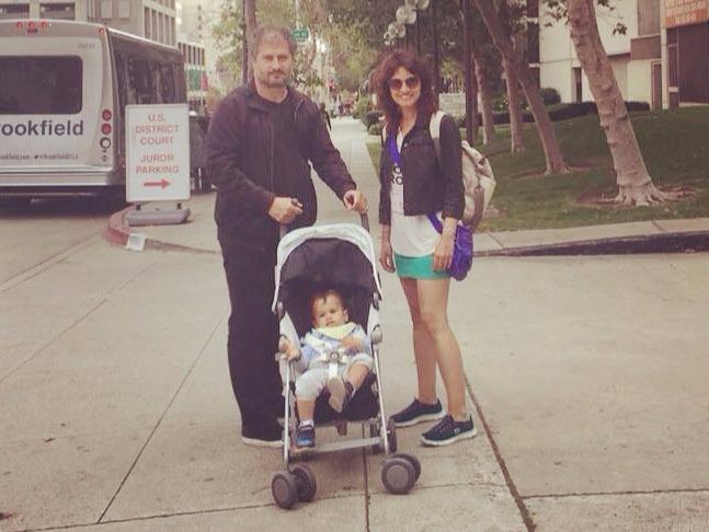 Gizem Soysaldi enjoying vacation with husband and son