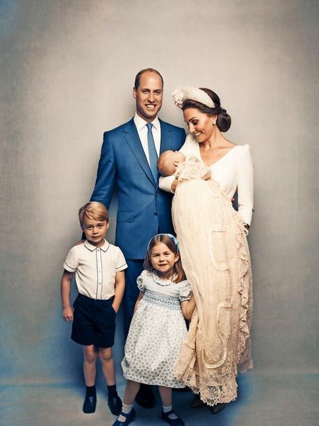 Duke of Cambridge and his family