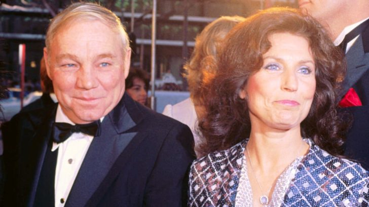 Loretta Lynn and her husband in the event