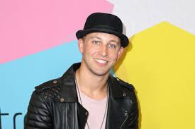 Matt has a admirable smile. He looks dashing  in black hat and black jacket. His killer blue eyes is looking straight at the camera.