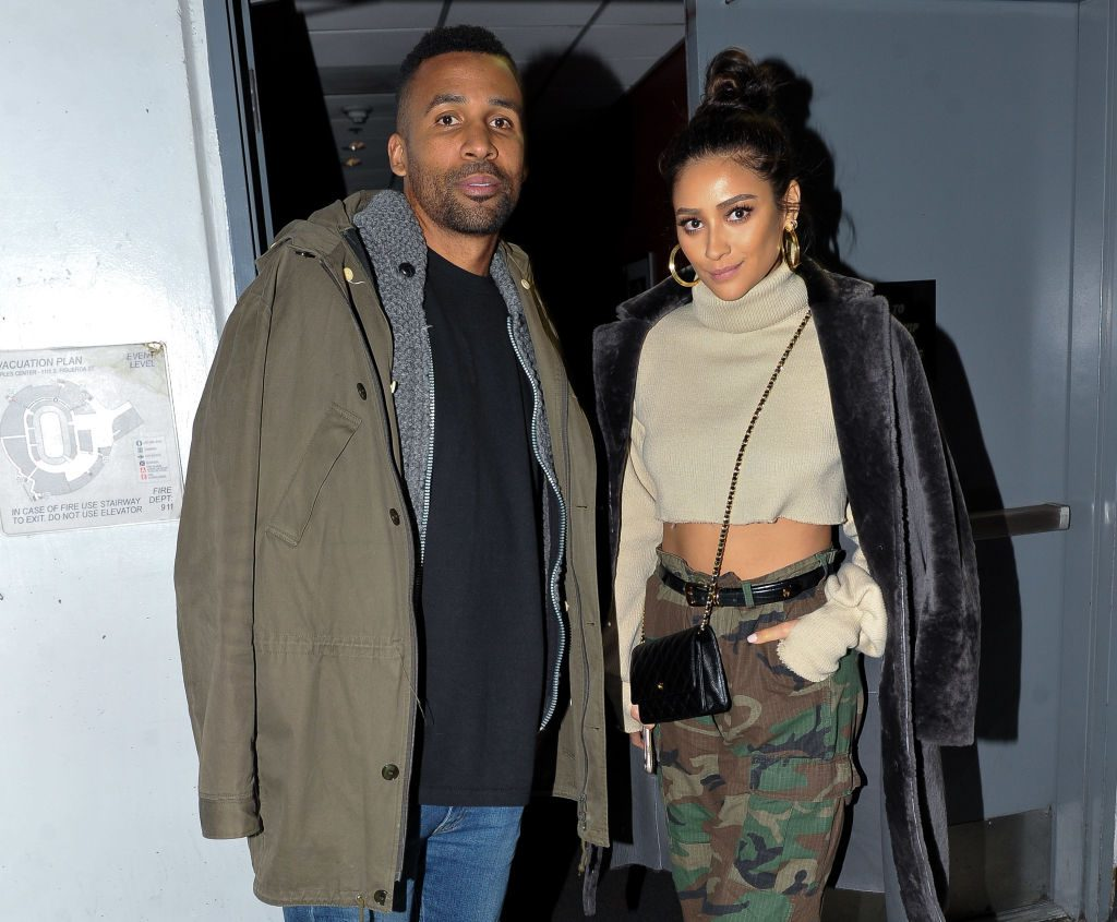 Actor Matte Babel and girlfriend Shay Mitchell