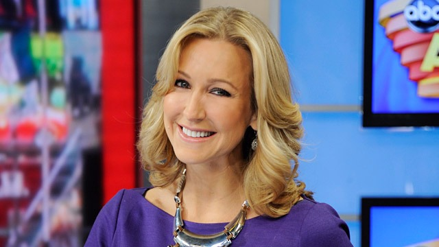 Lara Spencer's bubbly personality in Good Morning America.