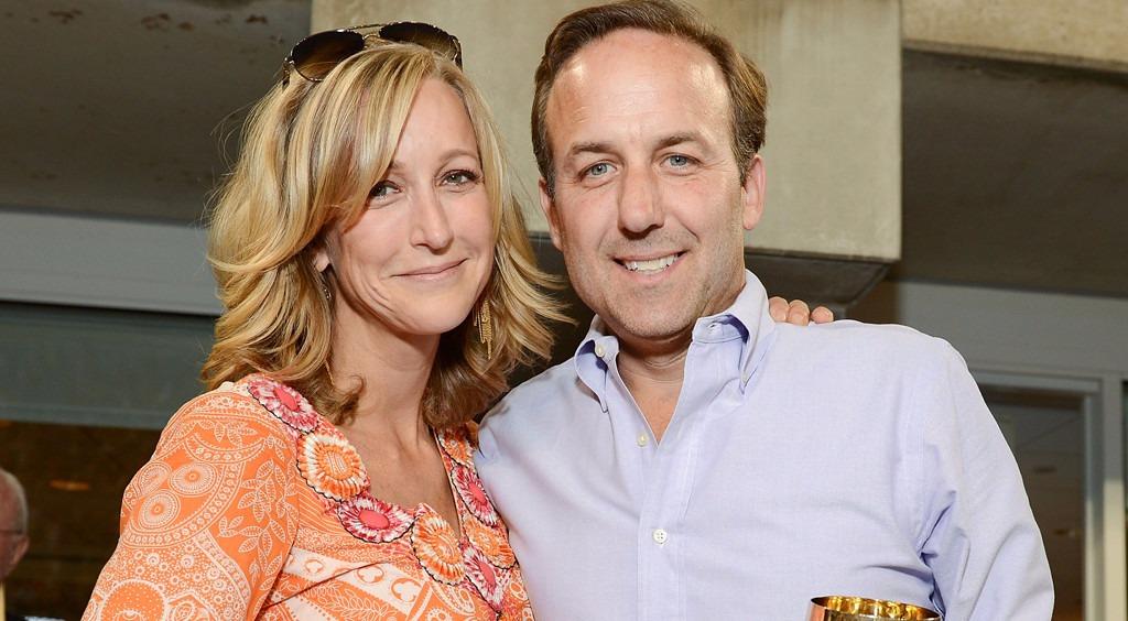 Lara Spencer with her former husband David Haffenreffer