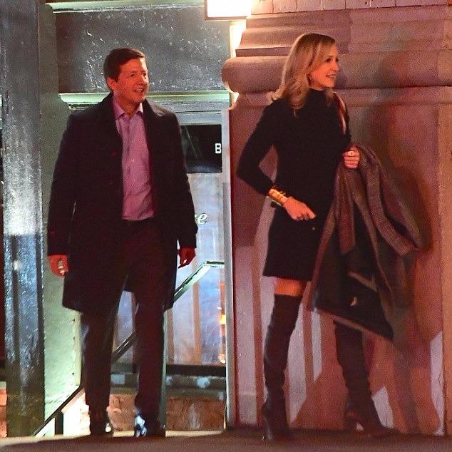 Lara Spencer with her alleged boyfriend Rick McVey