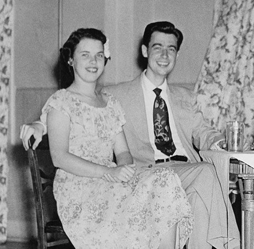 Fred Rogers with his wife Joanne Rogers