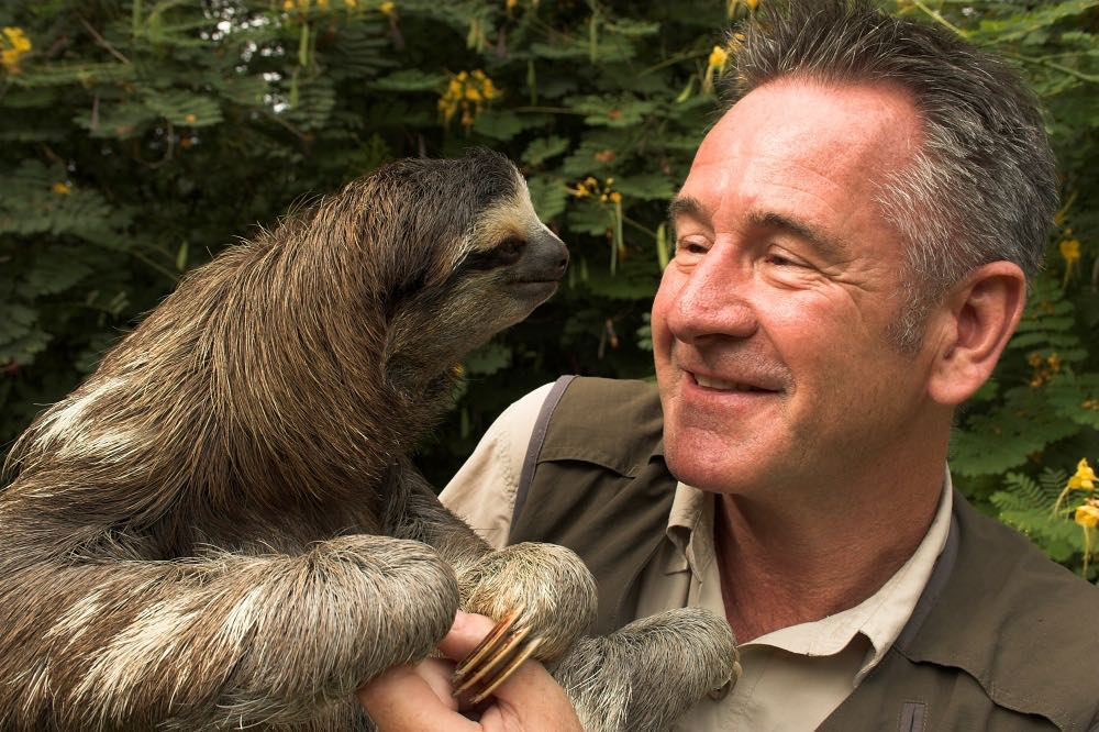 Nigel Marven is carrying a Sloths