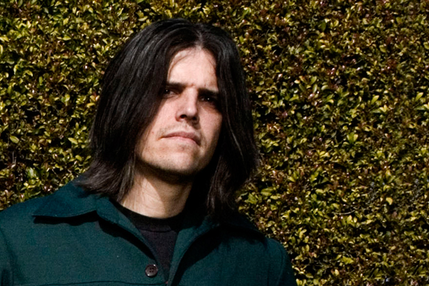 Adam Jones flaunting his long black hair