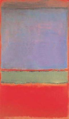 No.6 (Violet, Green, Red)