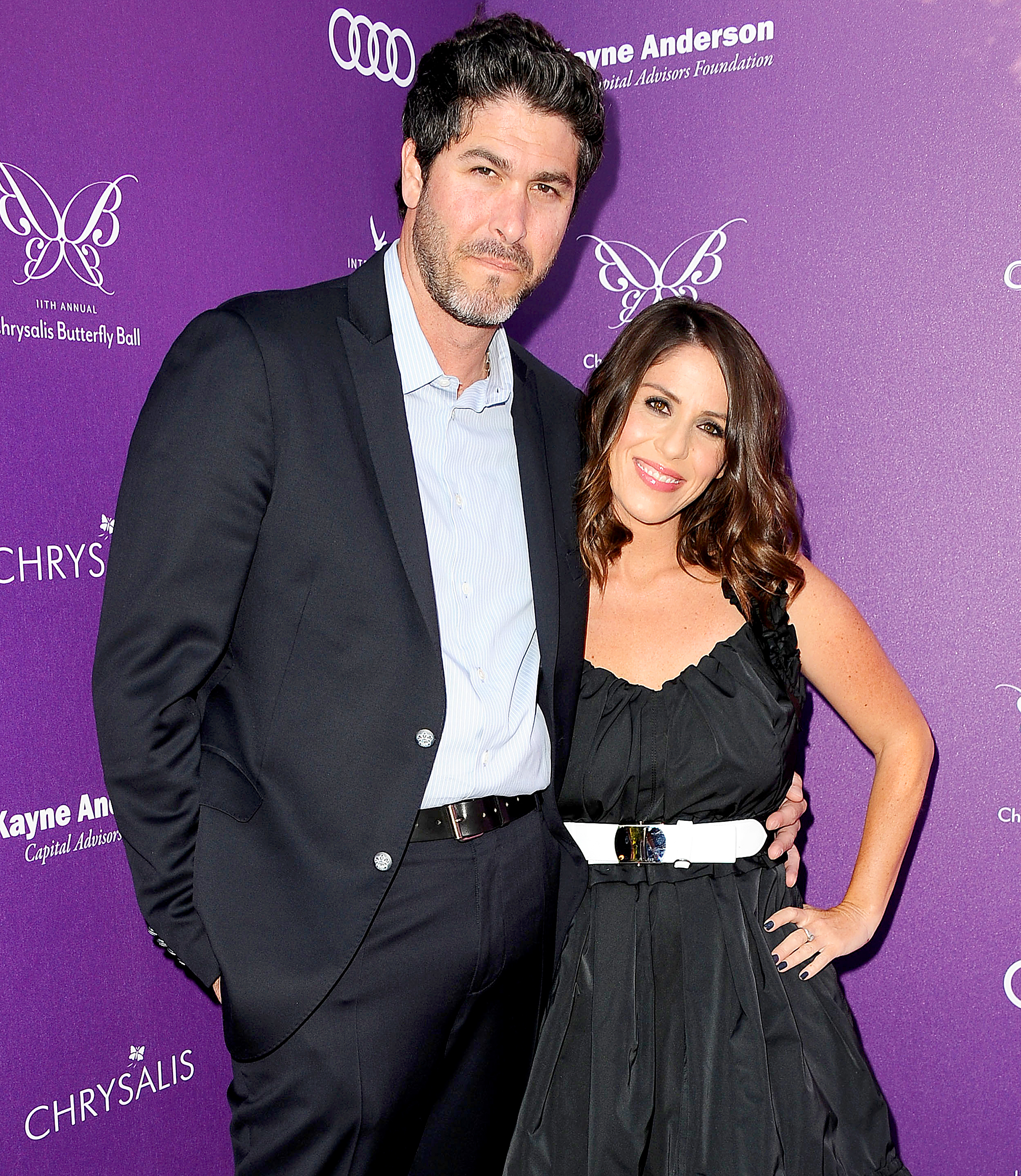 Soleil Moon Frye with her husband