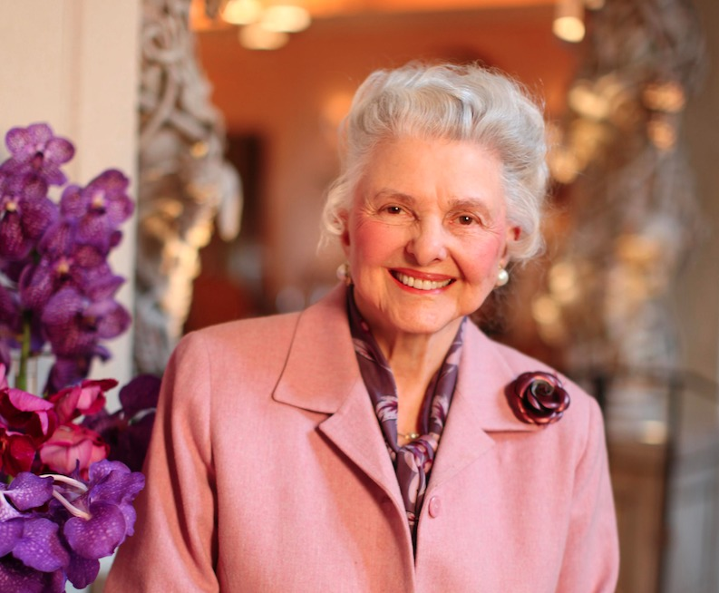Caroline Rose Hunt smiling