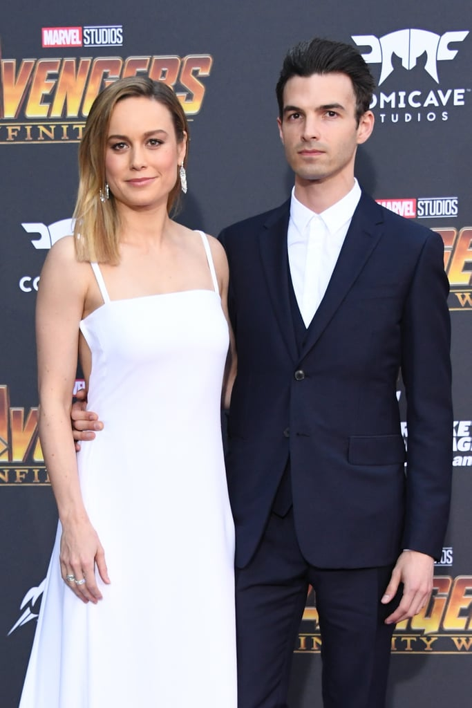 Brie and Alex at the premiere of Avengers: Infinity Wars