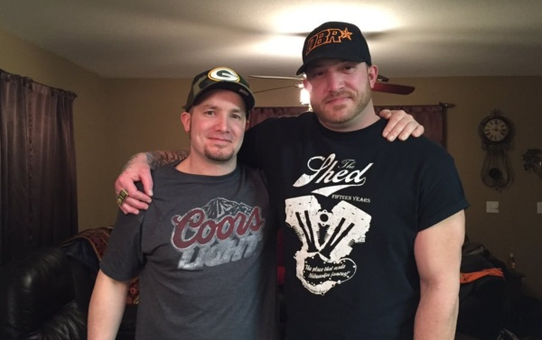 Gold Rush Star Rick Ness with his brother Randy Ness. Rick Ness grew up with his twin brother Randy Ness.