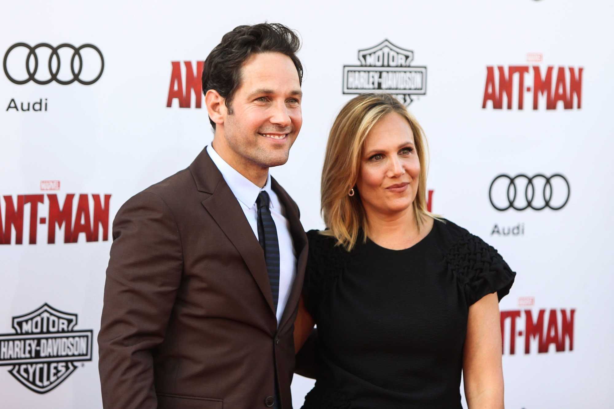 Paul Rudd and wife Julie Yaeger at the Sundance Festival