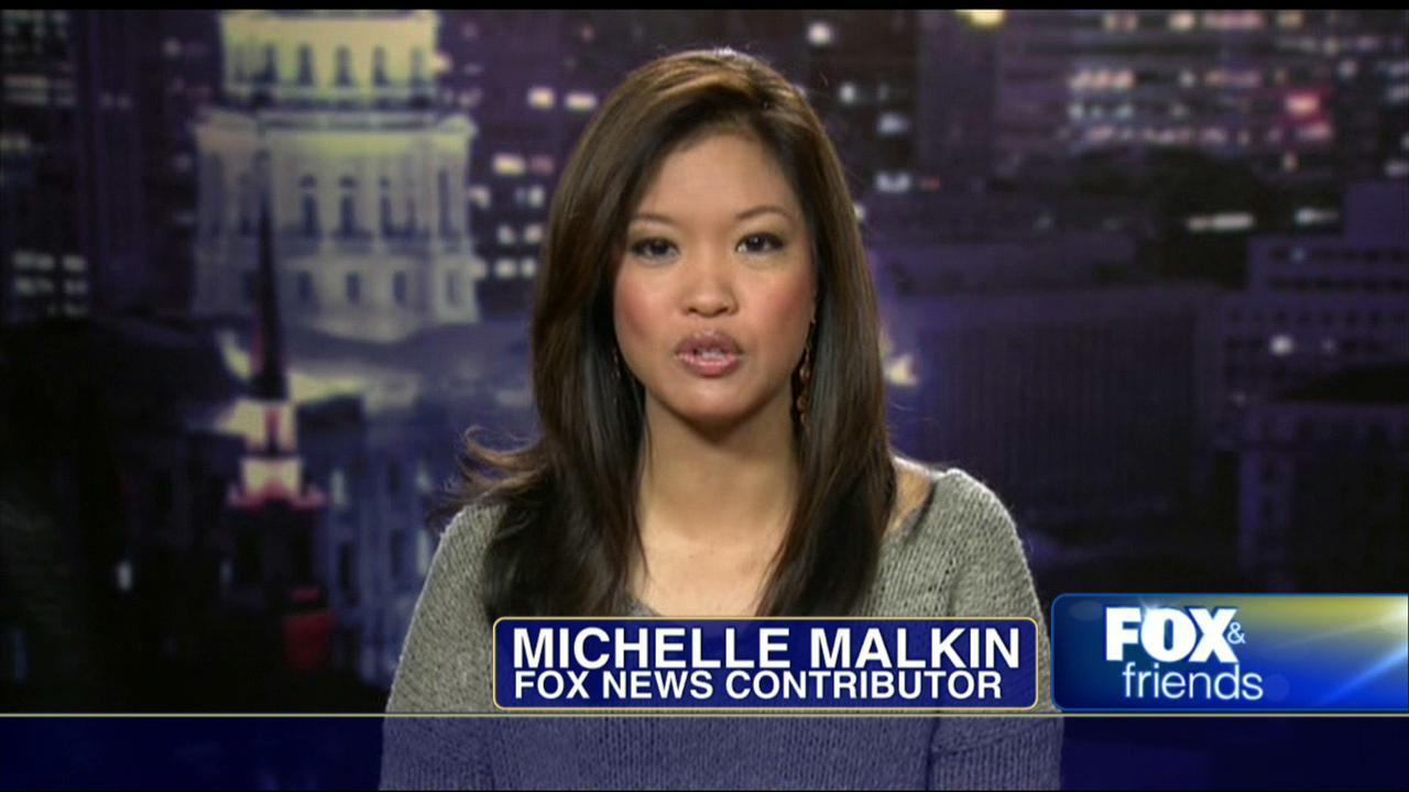 Michelle Malkin hosting the show Fox and Friends as the news contributor