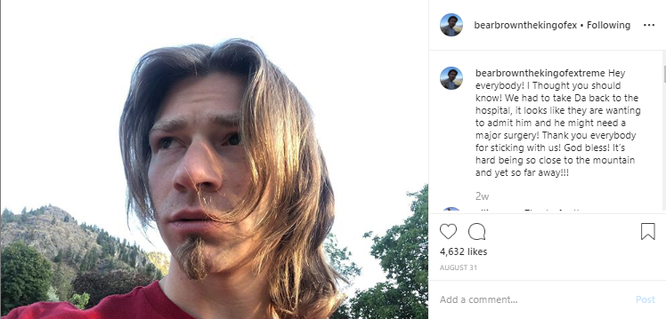 Alaskan Bush People star, Billy Brown had been facing respiratory problems and was hospitalized during August, 2019