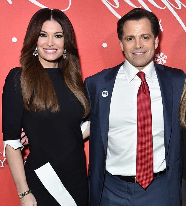Kimberly Guilfoyle with former Former White House Communications Director Anthony Sacramucci