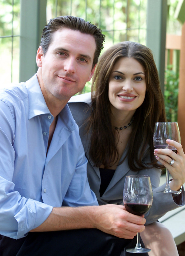 Mayor of San Francisco Gavin Newsom and former First Lady Kimberly Guilfoyle. They were married for six years (2001 to 2006). Following her divorce with Gavin Newsom, she got married to  Gavin Newsom.