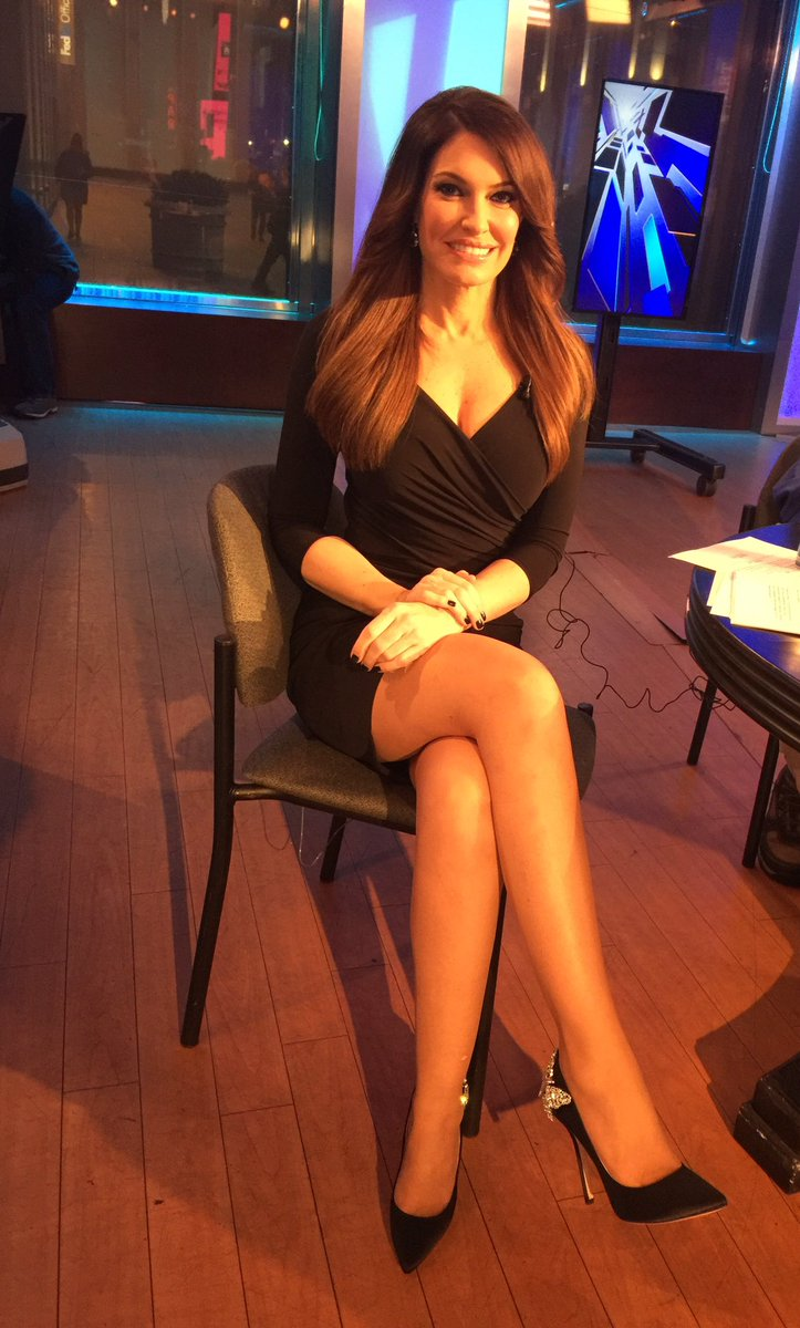 Former legal analyst of Fox's the Five, Kimberly Guilfoyle sitting in a chair. She worked on Fox for 12 years from 2006 to 2011.