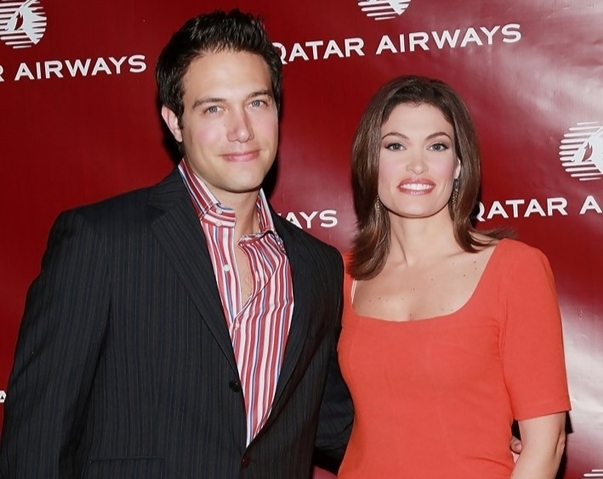 Kimberly Guilfoyle with her second husband, Eric Villency