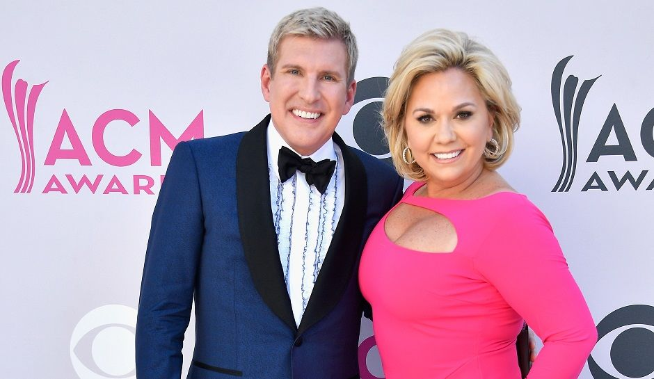 Todd Chrisley with his wife of more than two decades, Julie Hughes